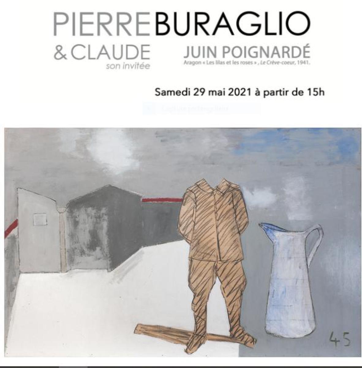 Pierre Buraglio, Juin Poignardé