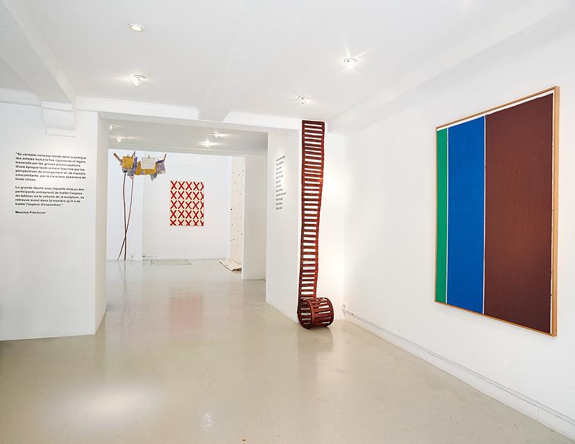 Supports/Surfaces - Galerie Eva Vautier