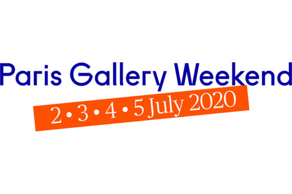 Paris Gallery Weekend 2020