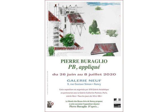 PIERRE BURAGLIO : PB, appliqué
