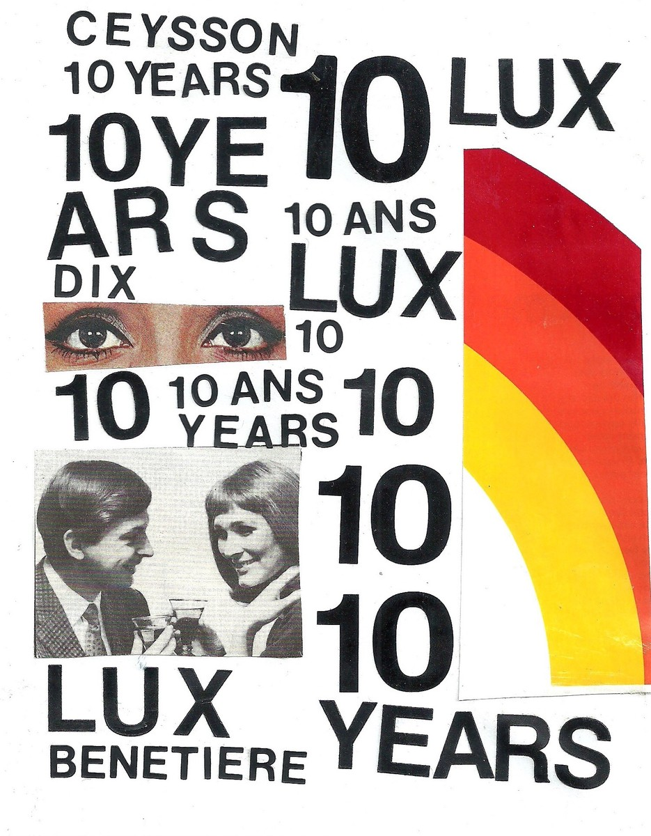 10 YEARS in Luxembourg