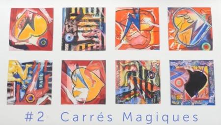 SOS - SUPPORTS OU SURFACES #2 CARRÉS MAGIQUES