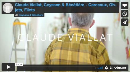 Claude Viallat - Cerceaux, Objets, Filets, Paris