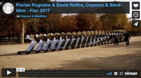 Florian Pugnaire & David Raffini - Fiac, Paris