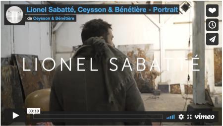 Lionel Sabatté - Portrait