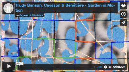 Trudy Benson - Garden in Motion, Paris